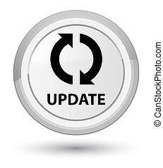 Update prime white round button