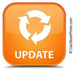 Update (refresh icon) special orange square button