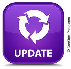 Update (refresh icon) special purple square button