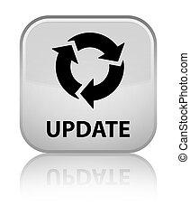 Update (refresh icon) special white square button