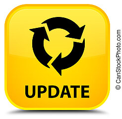 Update (refresh icon) special yellow square button