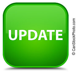 Update special green square button