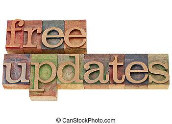 updates, libero