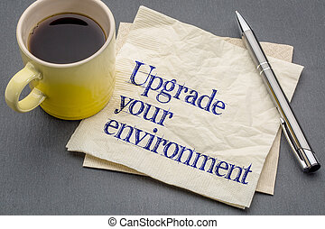 upgrade your environment
