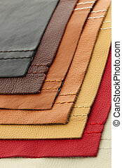 upholstery couro, amostras