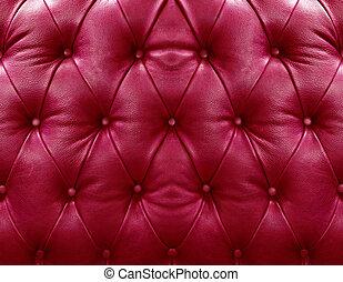 upholstery couro, vermelho