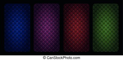 upholstery, padrão, abstratos, seamless, acolchoado, ...