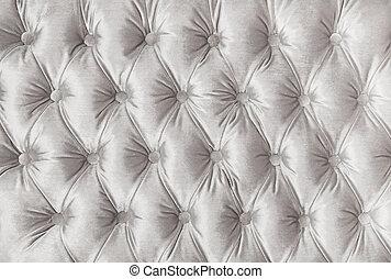 upholstery, tecido, tufted, capitone, textura, branca