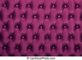 upholstery, tecido, tufted, roxo, capitone, textura