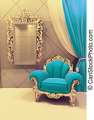 upholstery, veludo, real, luxuoso, interior, mobília