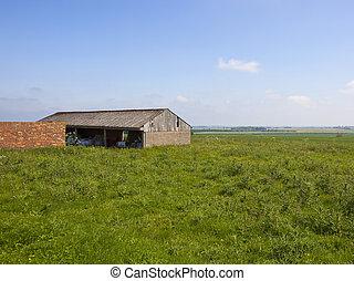 upland farm buildings