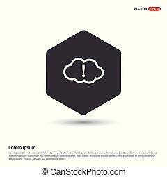 upload, chmura, ikona
