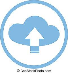 upload cloud symbol
