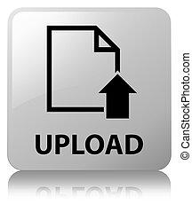 Upload (document icon) white square button