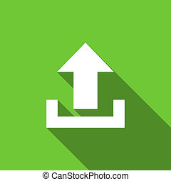 upload flat icon