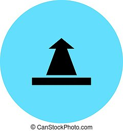 upload icon button