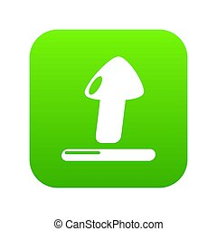 Upload icon green