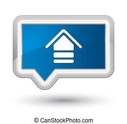Upload icon prime blue banner button