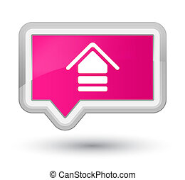 Upload icon prime pink banner button