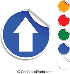 Upload icon.