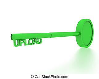 upload key