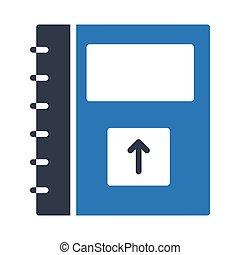 upload notebook