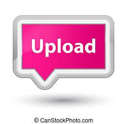 Upload prime pink banner button