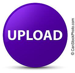 Upload purple round button