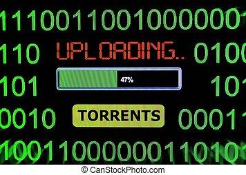Upload torrent