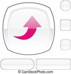 Upload white button.