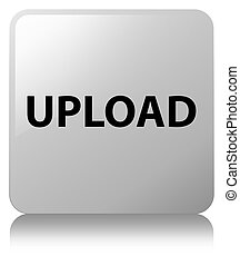 Upload white square button