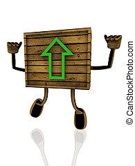 upload wooden banner