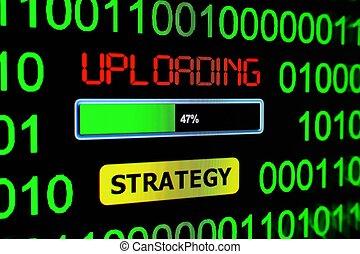 Uploading strategy