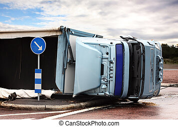 upp-och-ned, lorry