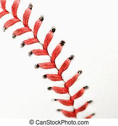 uppe., nära, baseball