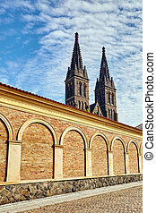 """Upper Castle""- Vysehrad (Czech for ""Upper Castle"") is a historical fort located in the city of Prague, Czech Republic."