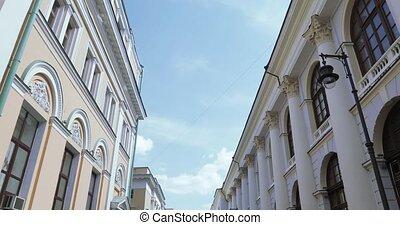 Upper floors of house on Ilyinka