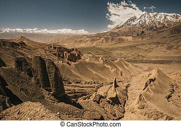 Upper mustang - Kingdom of Lo. Nepal Landscape. - Upper ...