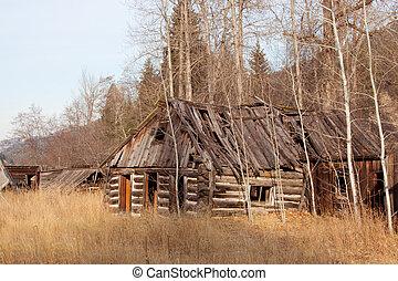 Upper Okanogan Highlands Ghost Town.