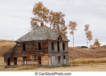 Upper Okanogan Highlands Old Homestead.