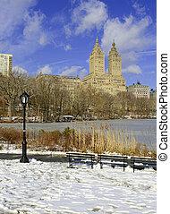 Upper West Side skyline, New York