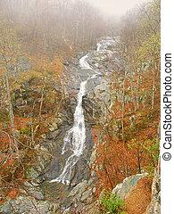 Upper Whiteoak Falls Virginia