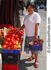 uppköp, grönsaken