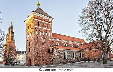 uppsala, igreja holy trinity