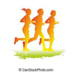 uprawiający jogging