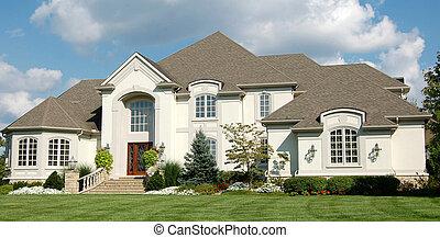 Upscale home near golf course