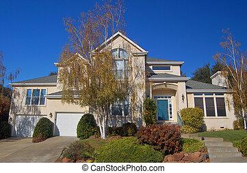 Upscale house - An upscale house