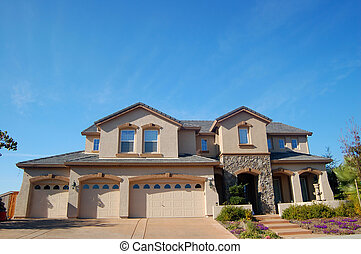 Upscale House in California - An upscale house in California