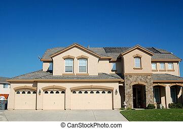 upscale house - An upscale house in California