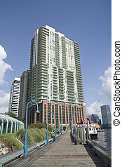 waterfront condo - upscale waterfront condo on the riverwalk...